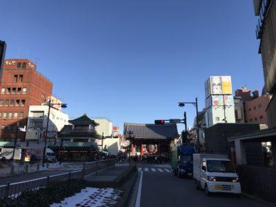 浅草のそら20180126