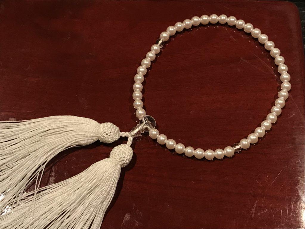 真珠ネックレスからのお直し