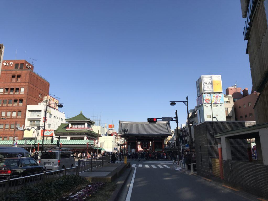 浅草のそら20180129