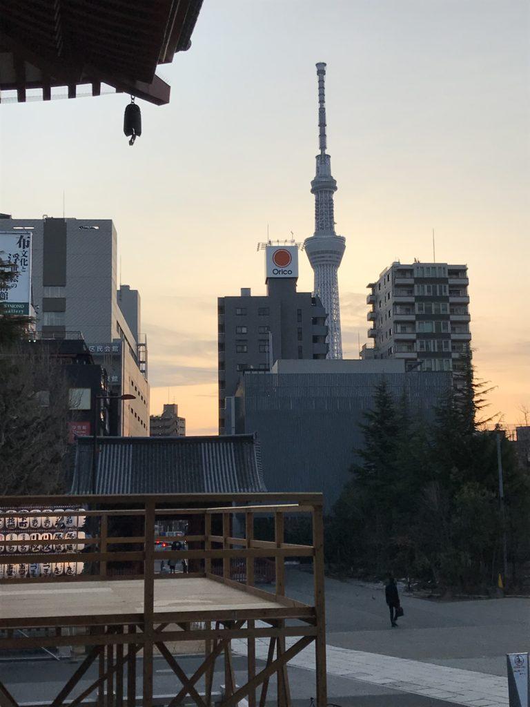 浅草寺の東塔