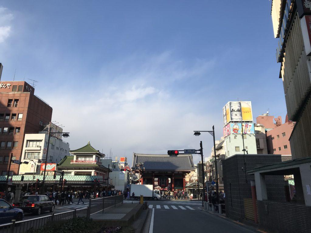 浅草のそら20180204