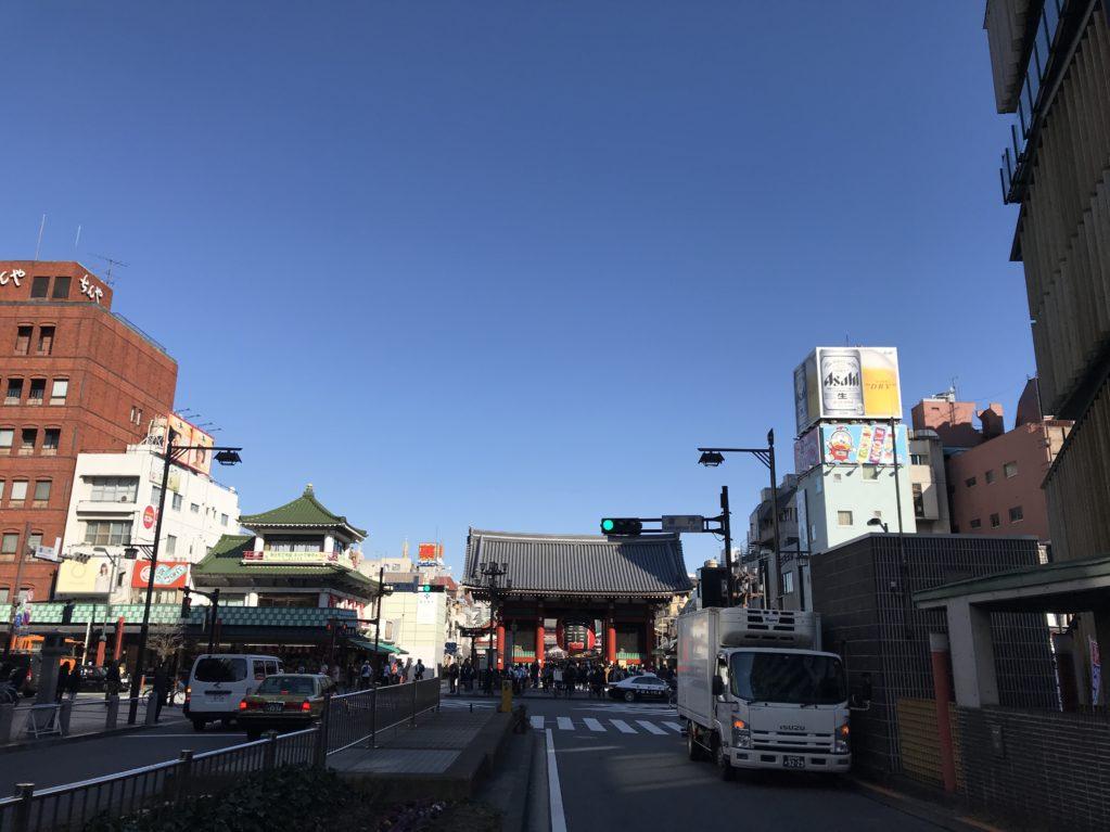 浅草のそら20180207