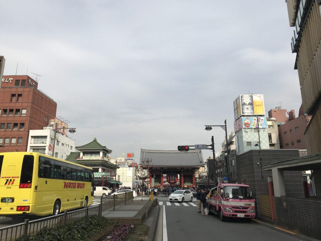浅草のそら20180210