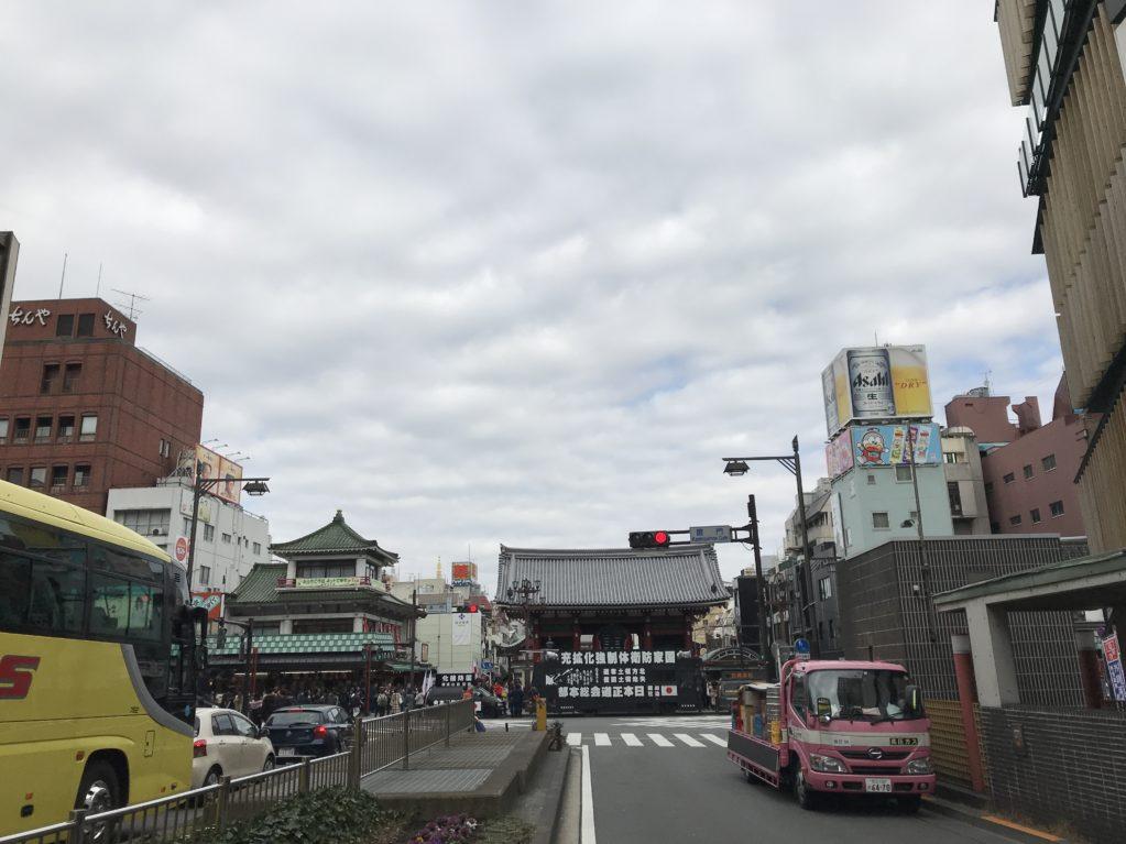 浅草のそら20180211