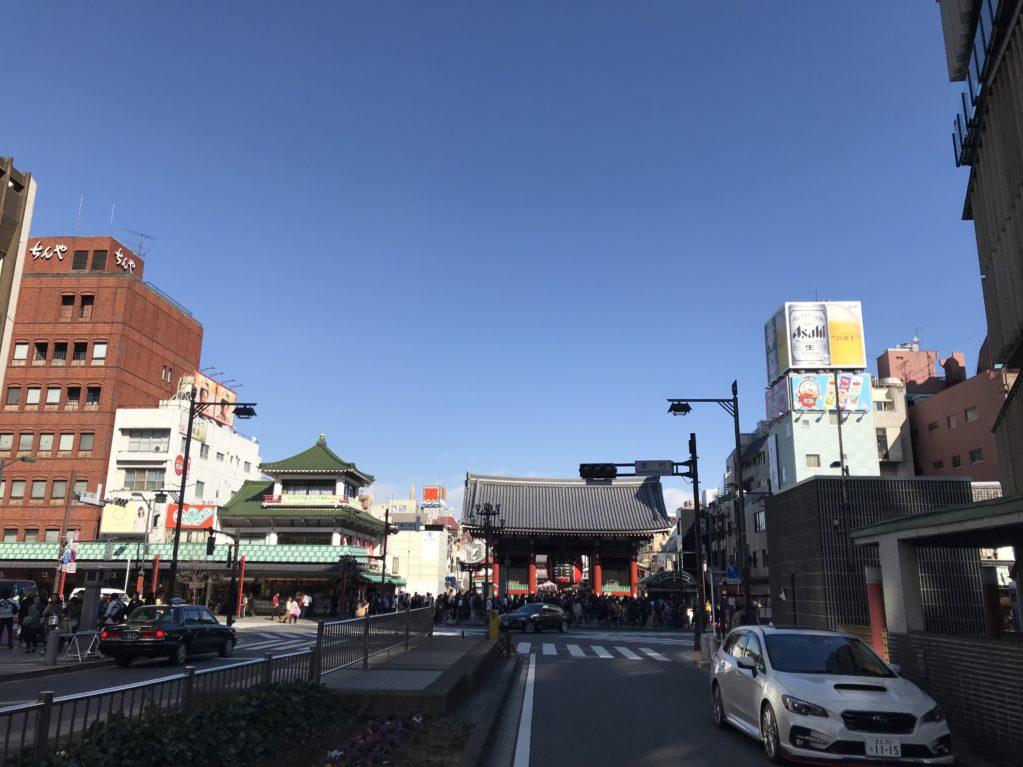 浅草のそら20180212
