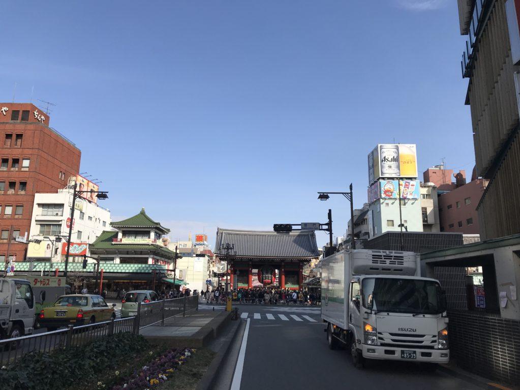 浅草のそら20180216