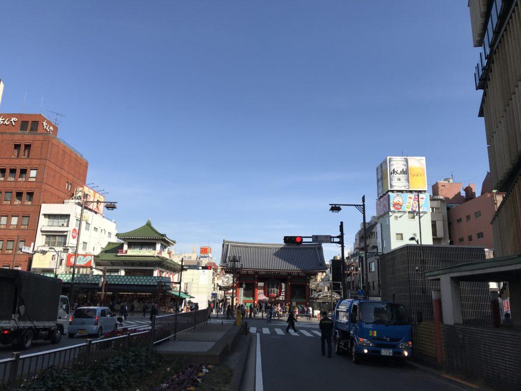 浅草のそら20180219