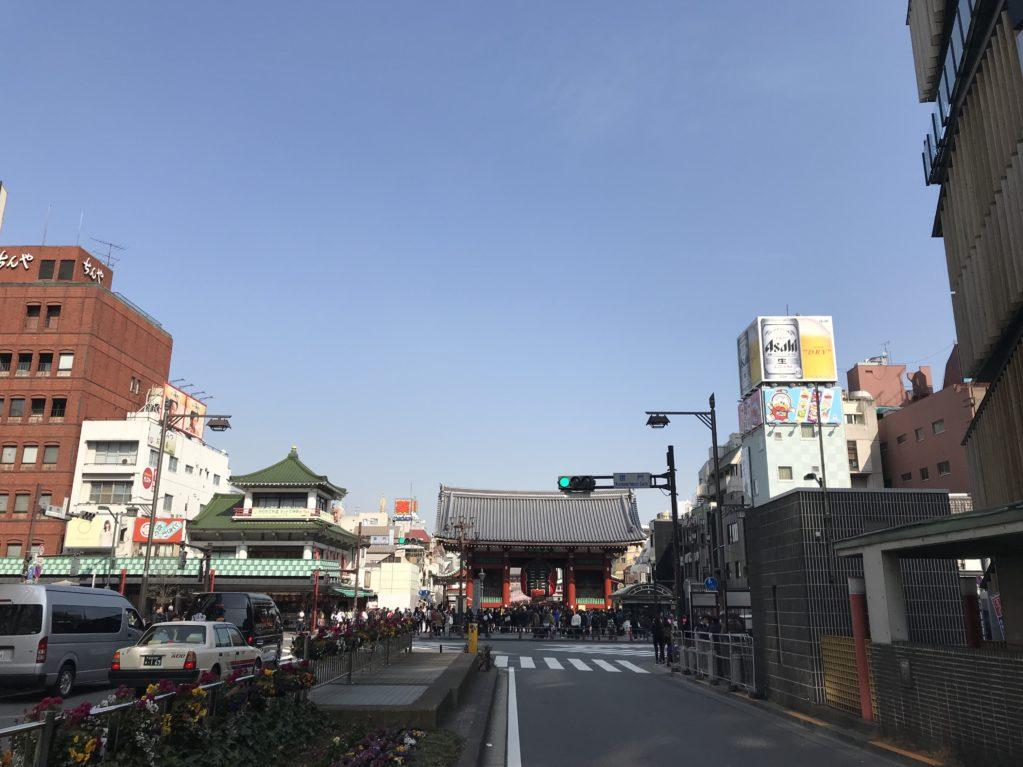 浅草のそら20180224