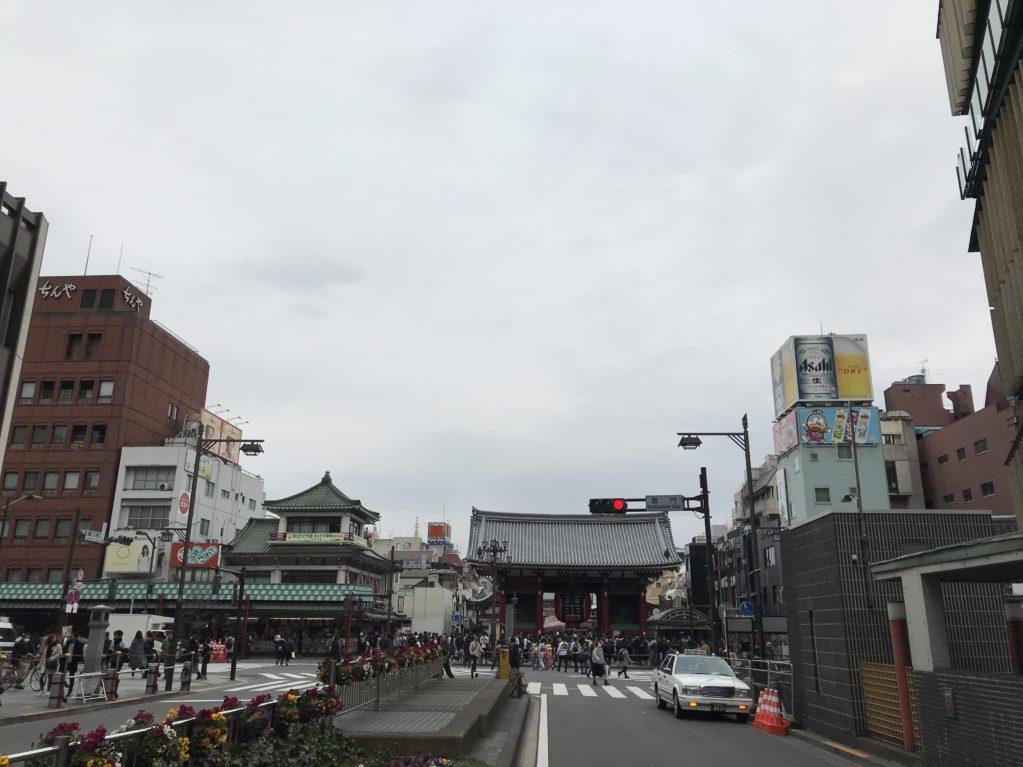浅草のそら20180225
