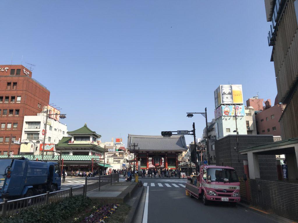 浅草のそら20180227