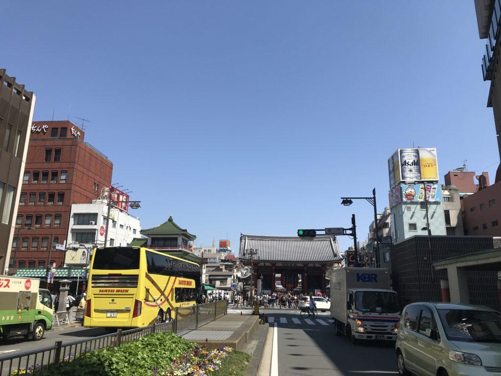 浅草のそら20180428
