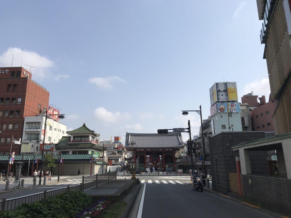 浅草のそら20180527