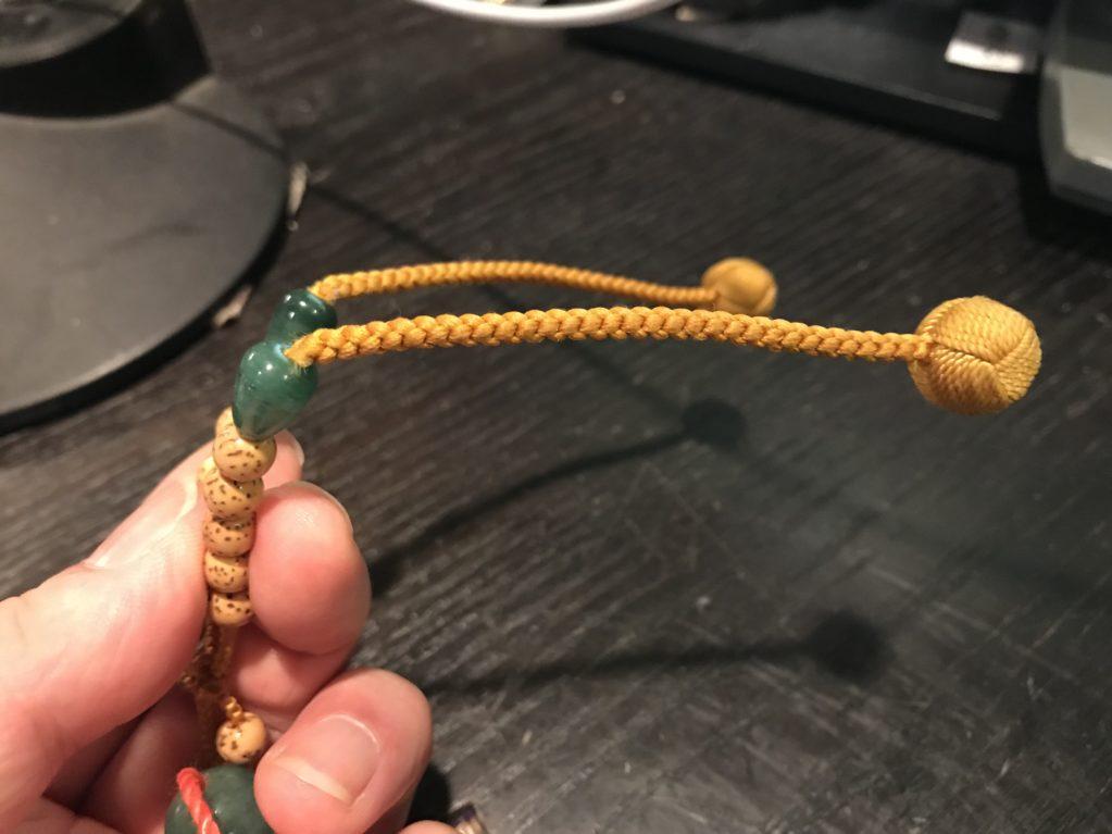 機械編みかな・・・